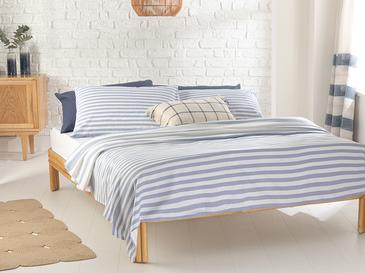 Hip Stripe Комплект Пике-Лятно Одеяло Двоен Размер 200x220 См Синьо