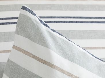 Modern Stripe Кълъфка За Възглавни 2 Броя Памучен 50x7 Cm Сиво