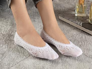 Fairy Дамски Чорапи Бяло