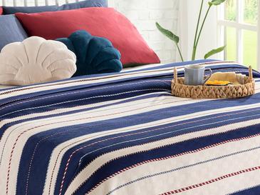 Rope Marine Пике-Лятно Одеяло Единичен Размер 150x220 См Тъмносиньо