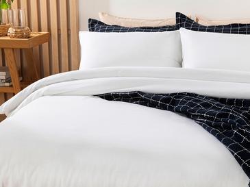 Moderna Комплект Спално Бельо Двоен Размер 200x220 См Бяло