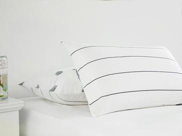 Gingko Leaf Кълъфка За Възглавни 2 Броя Памучен 50x7 Cm Lacivert