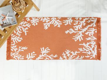 Coral Килим Тъкан 120x160 Cm Оранжево