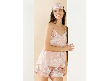 Smooth Комплект Дамска Пижама L Нюд