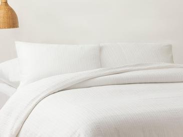 Спално Комплект Спално Бельо Единичен Размер 160x220 См Бяло