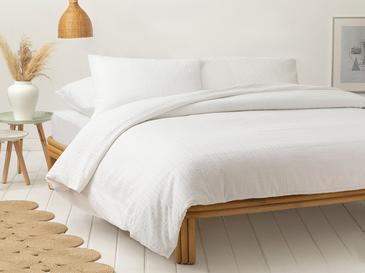 Спално Бельо Компле 160x220cm Бяло