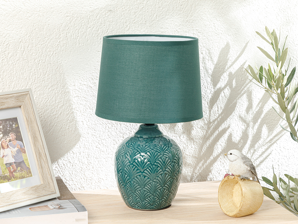 Artdeco Table Lamp Yeşil