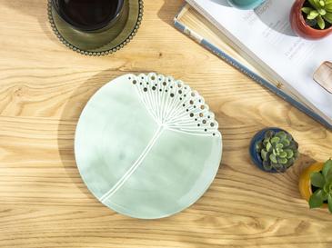 Dandelion Декоративна Чиния Зелено