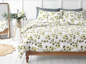 Summer Ivy Комплект Спално Бельо King Size 240x220 См Зелено