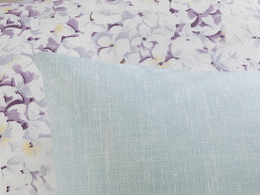 Cottony 2 Set Pıllowcase 50x70 Cm Hydrangea Color