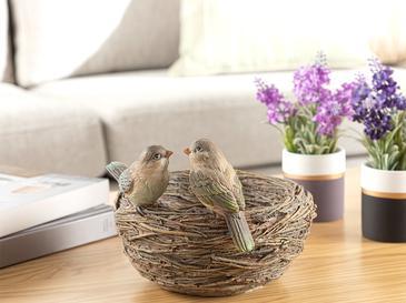 Birdy Декоративен Предмет 19x19x13 Cm Кафе