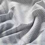 Painted Yarn Super King Duvet Cover Set 260x220 Cm Lacivert