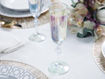 Puget Чаша за Шампанско Стъкло 2 Бр 150 ml Цветно