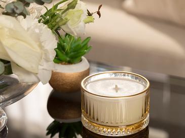 Luxury Ароматизиран Свещ 155 G Жълто