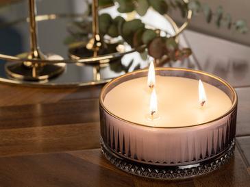 Luxury Ароматизиран Свещ 370 G Нощносиньо