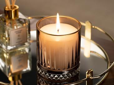 Luxury Ароматизиран Свещ 285 G Кафяво