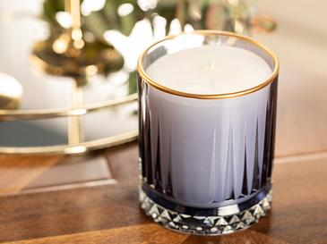 Luxury Ароматизиран Свещ 285 G Нощносиньо