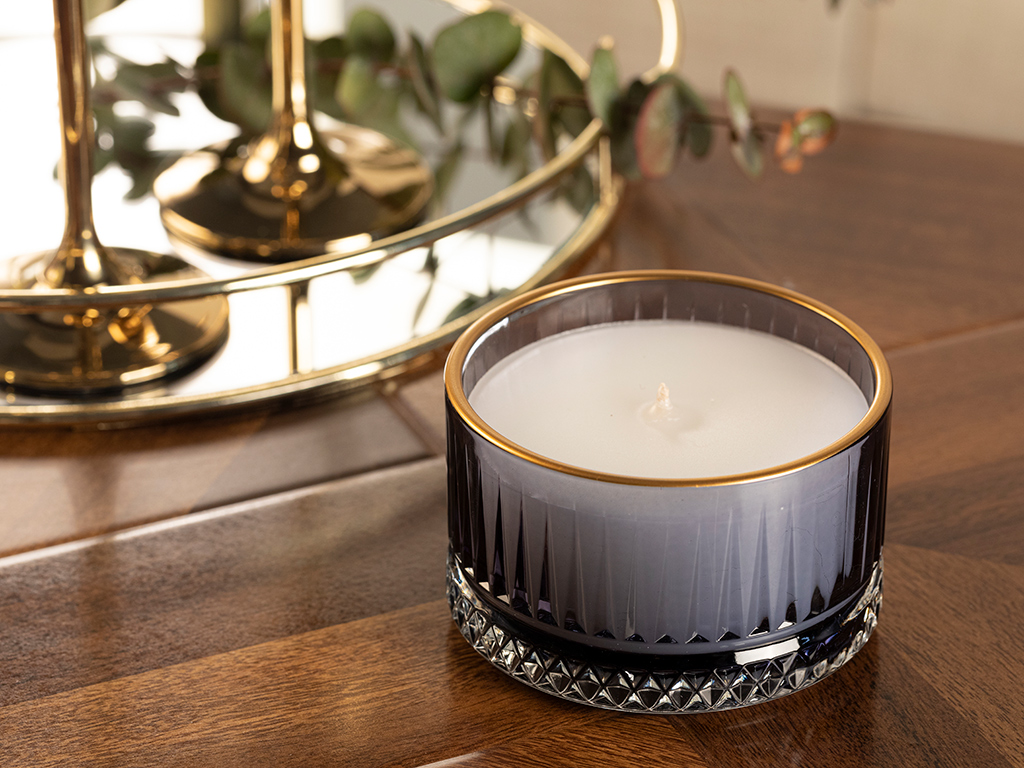 Luxury Scented Candle Midnight Blue