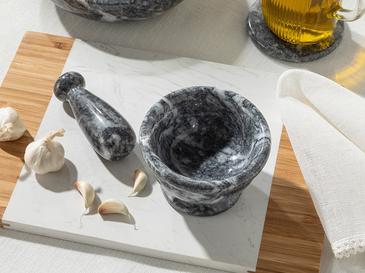 Marble 10x3,5 Cm Тъмносиво
