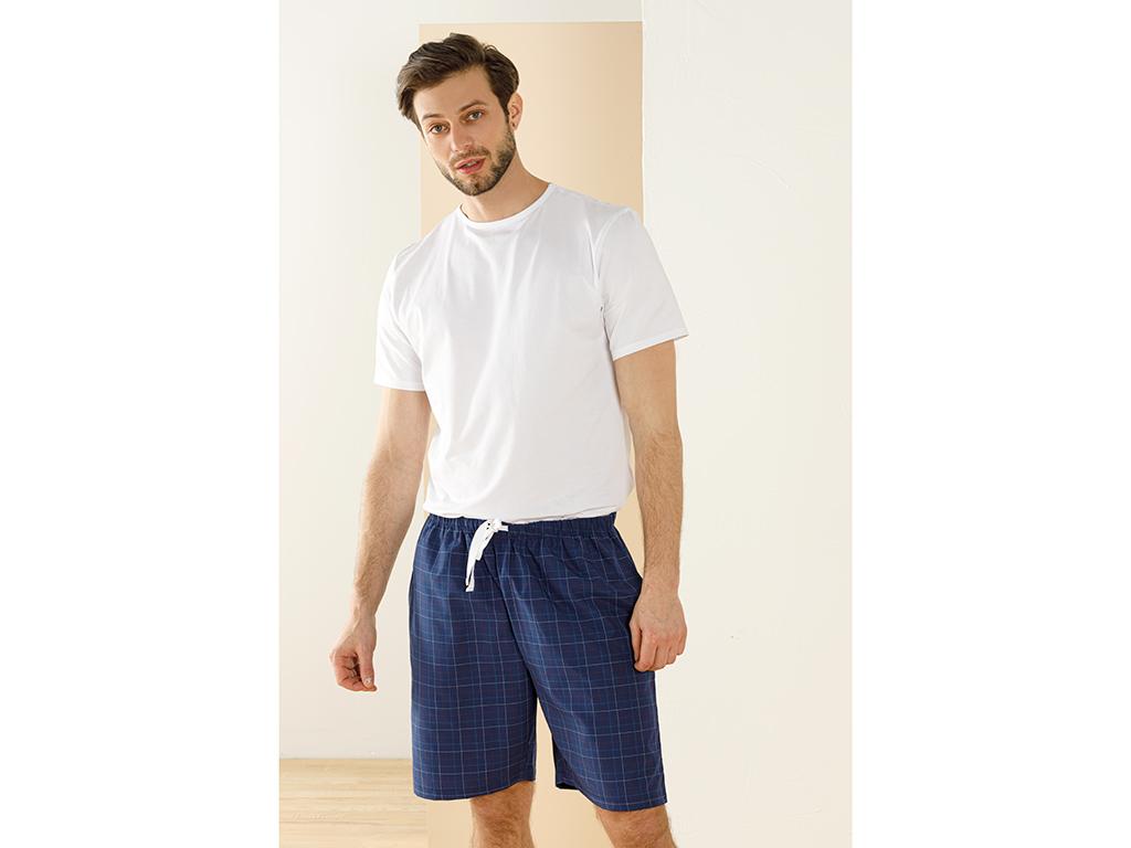 Weaved Shorts S Lacivert
