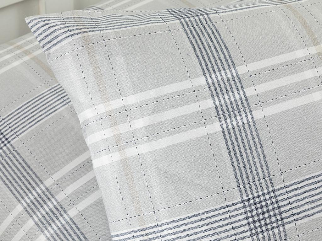 Cottony 2 Set Pıllowcase 50x70 Cm Gri