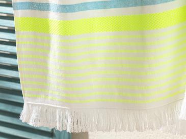 Neon Stripe Хавлия за Плаж 70x150 См Тюркоазено-Зелено