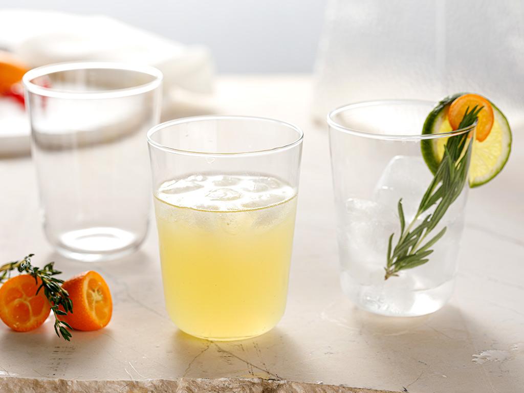 Hira Glass 3 Set Juıce Glass 250 Ml Transparent