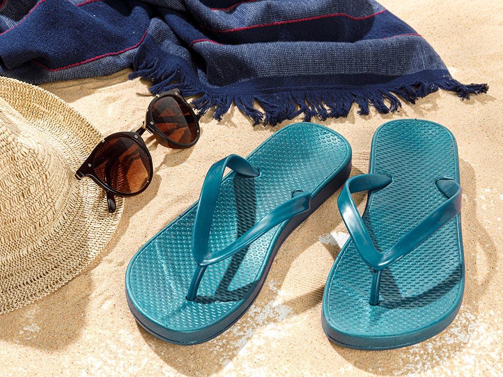 Havana Terlik Beach Slipper 36 Turquoise