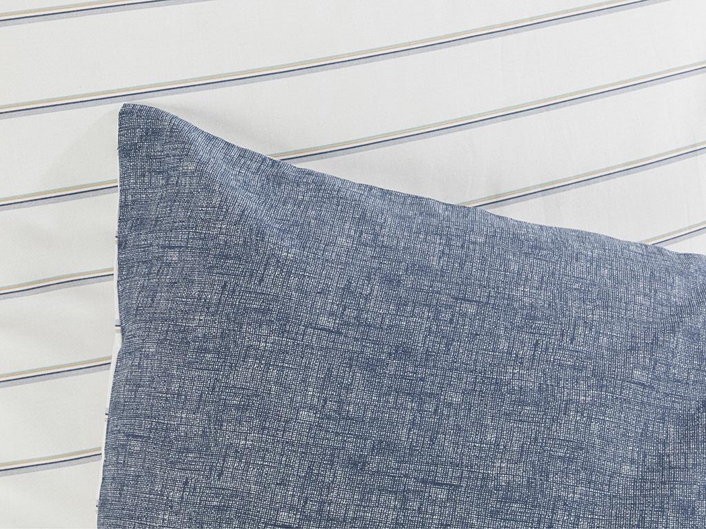 Cottony 2 Set Pıllowcase 50x70 Cm Dark Blue