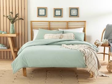 Moderna Комплект Спално Бельо Единичен Размер 160x220 См Зелено
