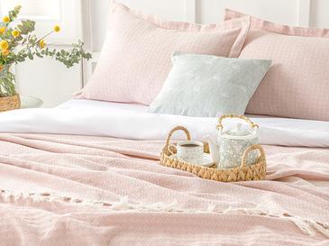 Pearl Комплект Покривало за Легло King Size 260x280 Cm Пудра