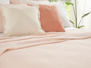 Grace Пике-Лятно Одеяло Двоен Размер 200x220 См Розовo