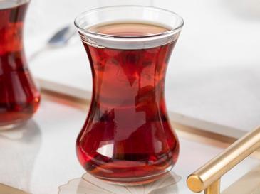 İsabell Комплект Чаши за Чай 6 Бр. Стъкло 130 ml Прозрачно