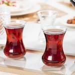 İsabell Glass 6 Set Tea Glass 13,9x11,7x21,9 Cm Transparent