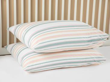 Pure Stripe Калъфка за Възглавница 2 Бр 50x70 См Розовo