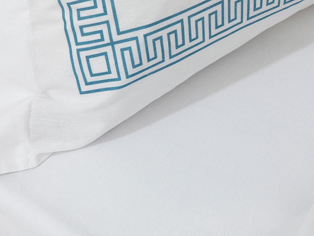 Cottony For One Person Duvet Cover Set 160x220 Cm Turkuaz