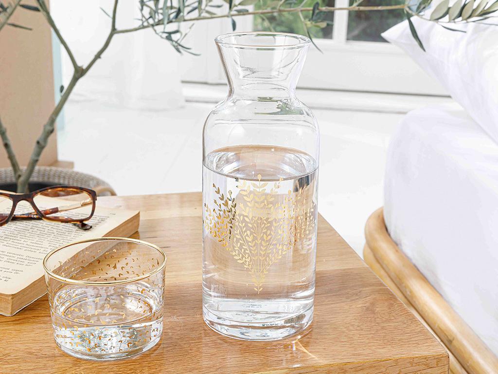 Weensy Glass Bedside Pitcher 70 Cm Gold