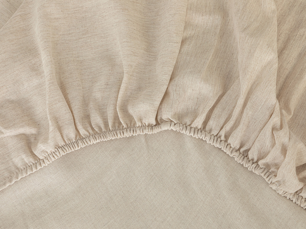 Curly Seersucker For One Person Duvet Cover Set 160x220 Cm Beige