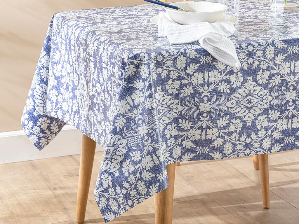 Gıovenne Puff Table Cloth 200x140 Cm Mor