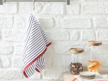 Rainbow Кърпа за Изсушаване 30x50 Cm Тъмносиньо