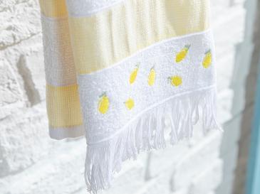 Summer Fruit Кърпа за Изсушаване 30x50 cm Жълто