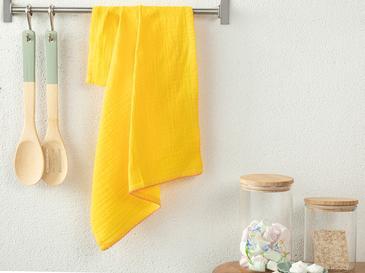 Кърпа За Изсушаване Памучен 40x60 Жълто