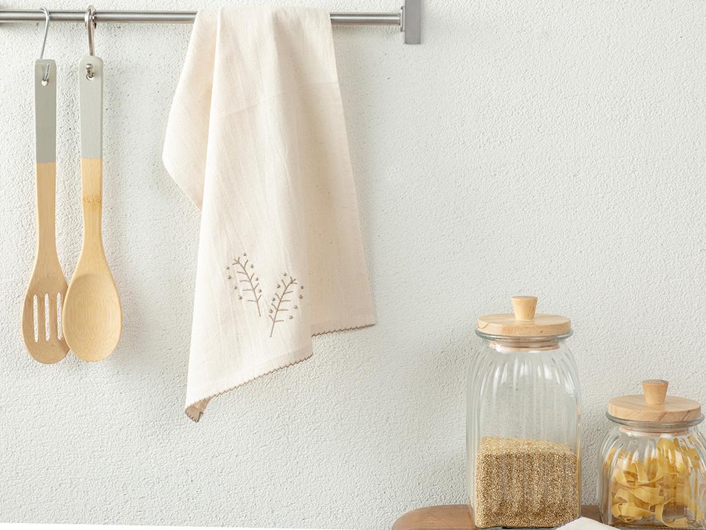Cotton Dryıng Cloth 30x50 Cm Beige