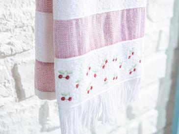 Summer Fruit Кърпа за Изсушаване 30x50 cm Бордо