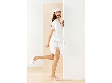 Bride Комплект Дамска Пижама L Бяло