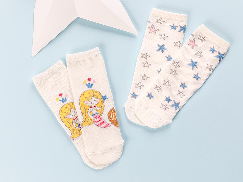Little Mermaid Baby Socks 61,0x21,5x41,5 Cm Pink