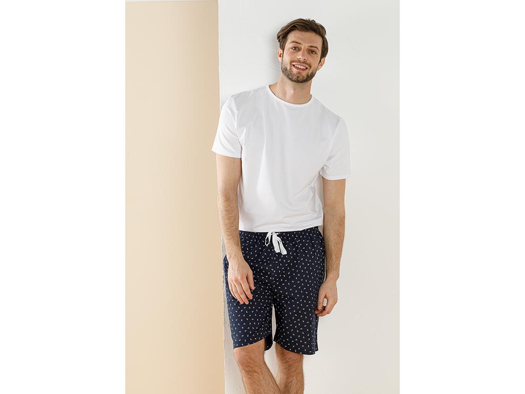 Weaved Shorts M Lacivert
