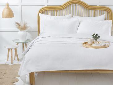 Nature Комплект Пике-Лятно Одеяло Двоен Размер 200x230 См Бяло