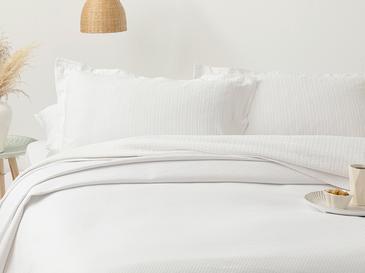 Diamond Пике-Лятно Одеяло Двоен Размер 200x230 См Бяло