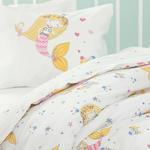 Little Mermaid Cottony 100x150 Cm. Pink